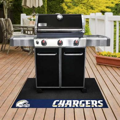 Los Angeles Chargers Grill Mat 26
