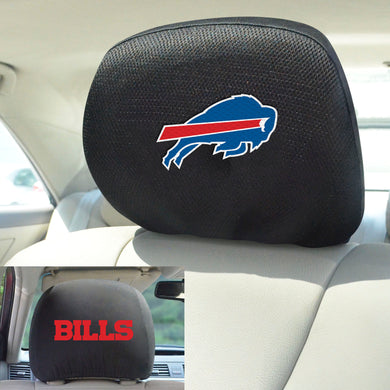 Buffalo Bills Set of 2 Headrest Covers