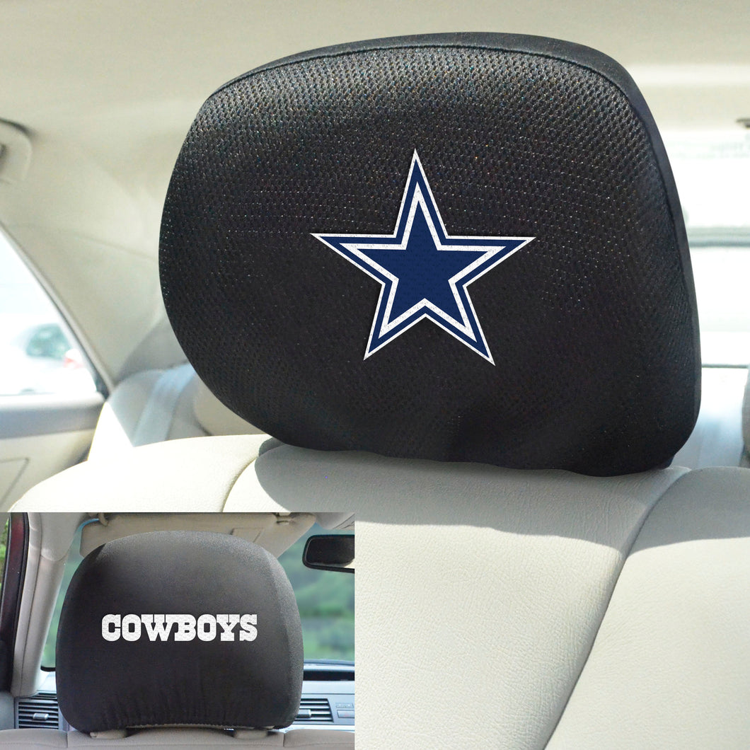 Dallas Cowboys Set of 2 Headrest Covers