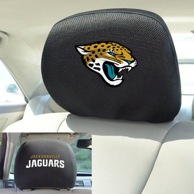 Jacksonville Jaguars Set of 2 Headrest Covers