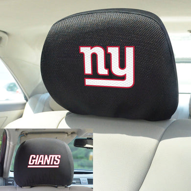 New York Giants Set of 2 Headrest Covers