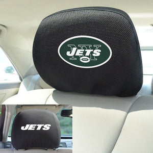 New York Jets Set of 2 Headrest Covers