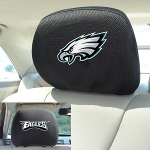 Philadelphia Eagles Set of 2 Headrest Covers