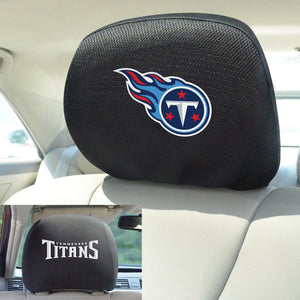Tennessee Titans Set of 2 Headrest Covers