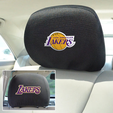 los angeles lakers head rest covers