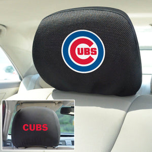Chicago Cubs Set of 2 Headrest Covers