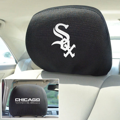 Chicago White Sox Set of 2 Headrest Covers