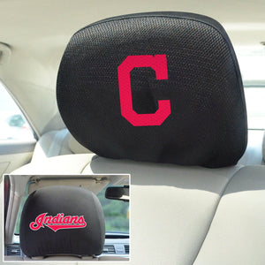 Cleveland Indians Set of 2 Headrest Covers