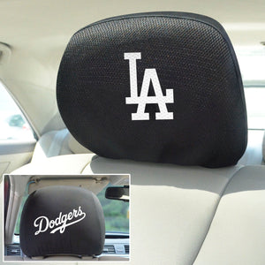 Los Angeles Dodgers Set of 2 Headrest Covers