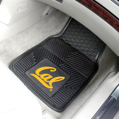 Cal Bears 2 Piece Vinyl Car Mats - 18