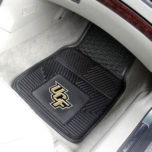 "Central Florida Knights 2 Piece Vinyl Car Mats - 18""x27"""