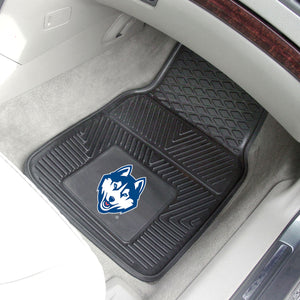 "Connecticut Huskies 2 Piece Vinyl Car Mats - 18""x27"""
