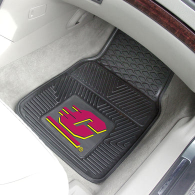 Central Michigan Chippewas 2 Piece Vinyl Car Mats - 18