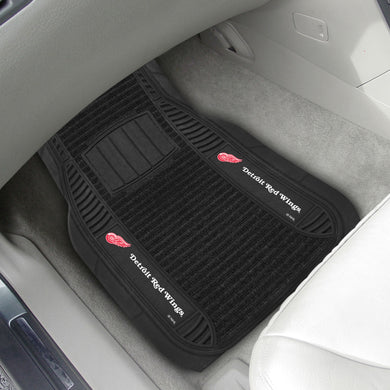 Detroit Red Wings 2-piece Deluxe Car Mat Set 21