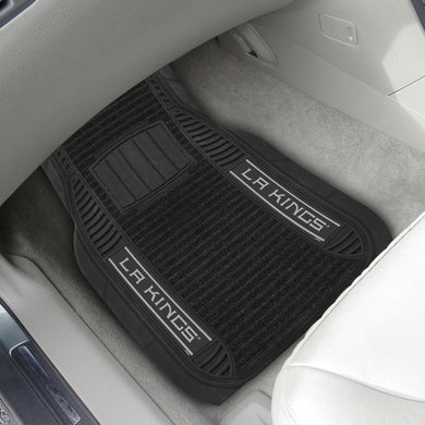 Los Angeles Kings 2-piece Deluxe Car Mat Set 21