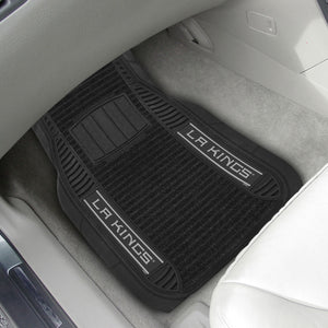 "Los Angeles Kings 2-piece Deluxe Car Mat Set 21""x27"""