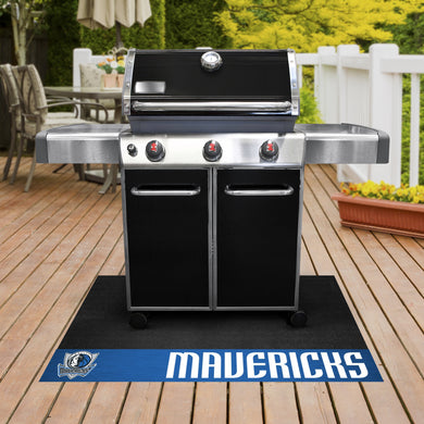 Dallas Mavericks Grill Mat 26