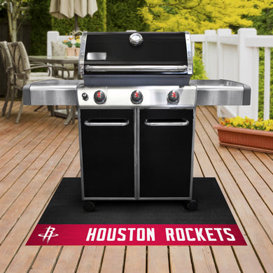 Houston Rockets Grill Mat 26
