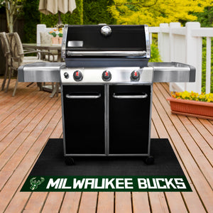 "Milwaukee Bucks Grill Mat 26""x42"""