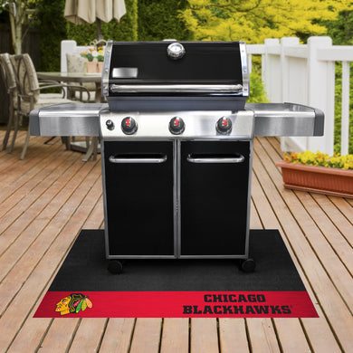 Chicago Blackhawks Grill Mat 26