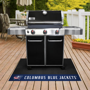 "Columbus Blue Jackets Grill Mat 26""x42"""