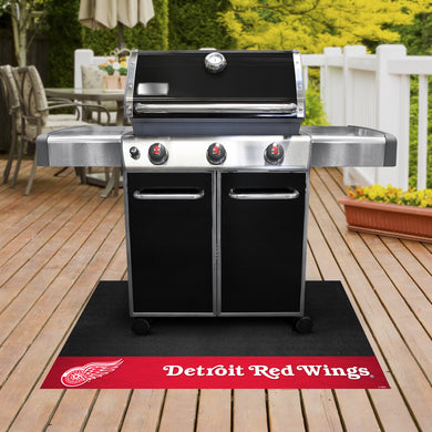Detroit Red Wings Grill Mat 26