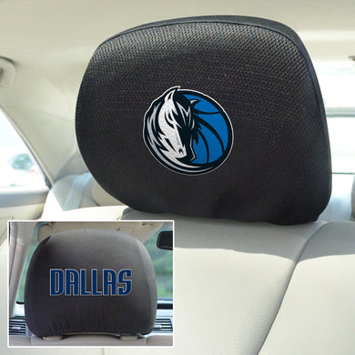 dallas mavericks head rest covers