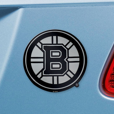 Boston Bruins  Chrome Auto Emblem
