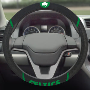 Boston Celtics Steering Wheel Cover