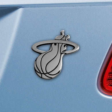Miami Heat Chrome Auto Emblem