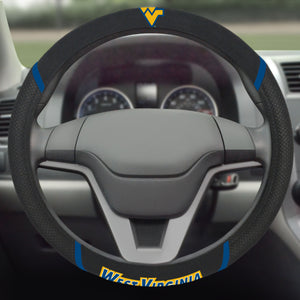 west virginia mountaineers steering wheel cover