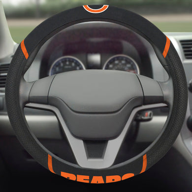 Chicago Bears Color Steering Wheel Cover