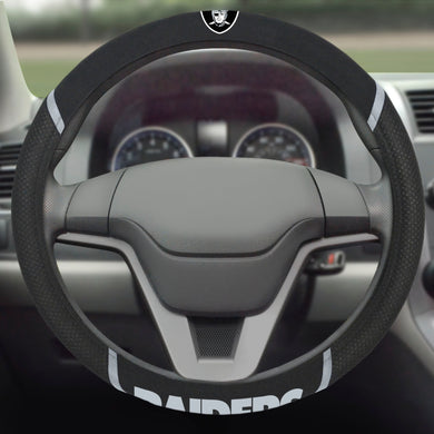 Oakland Raiders Steering Wheel Cover, Las Vegas Raiders Steering Wheel Cover
