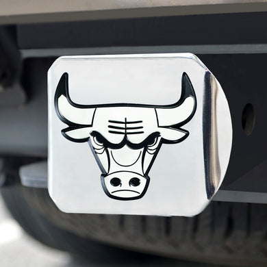 Chicago Bulls Chrome Hitch Cover