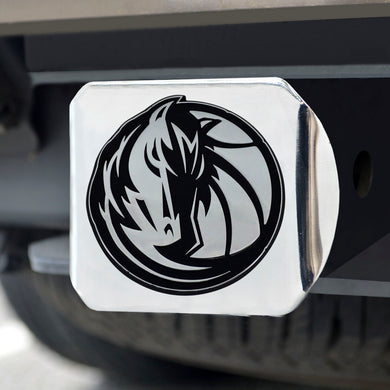 Dallas Mavericks Chrome Hitch Cover