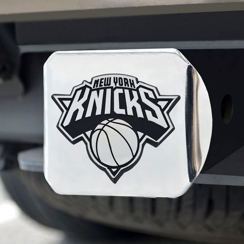 New York Knicks Chrome Hitch Cover