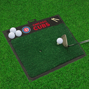 "Chicago Cubs Golf Hitting Mat 20"" x 17"""
