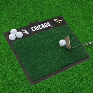 "Chicago White Sox Golf Hitting Mat 20"" x 17"""