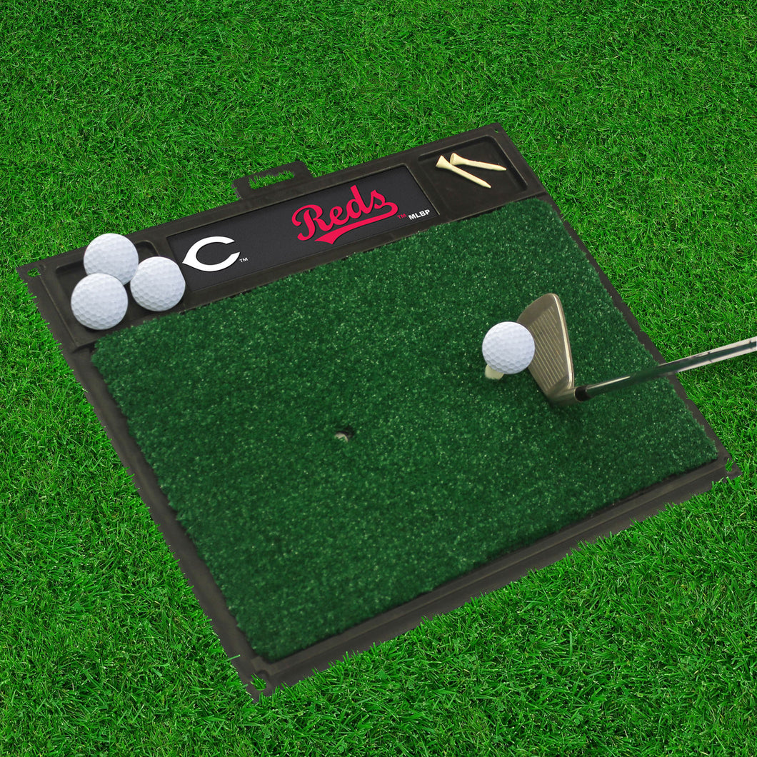 Cincinnati Reds Golf Hitting Mat 20