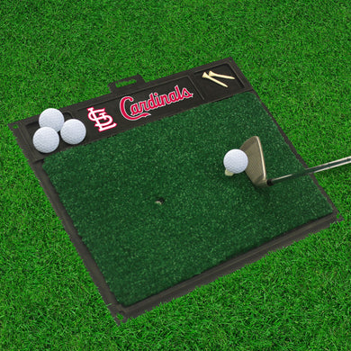 St. Louis Cardinals Golf Hitting Mat 20