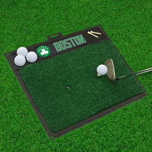 "Boston Celtics Golf Hitting Mat 20"" x 17"""