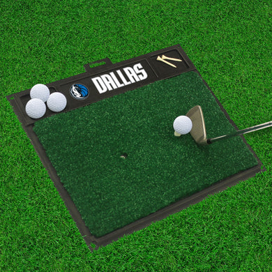 Dallas Mavericks Golf Hitting Mat 20