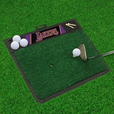 Los Angeles Lakers Golf Hitting Mat 20