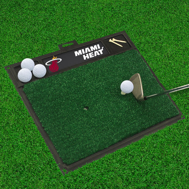 Miami Heat Golf Hitting Mat 20