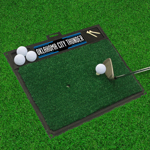 "Oklahoma City Thunder Golf Hitting Mat 20"" x 17"""