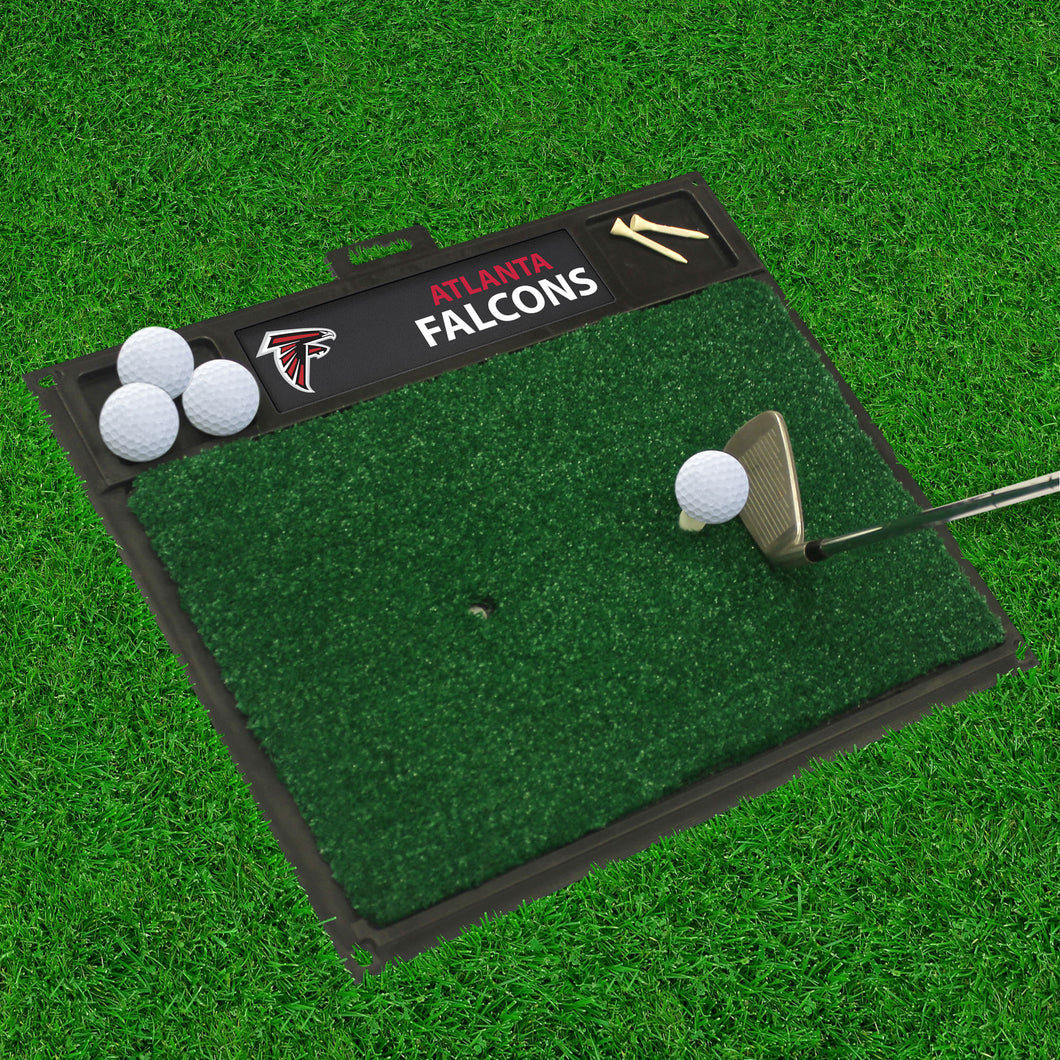 Atlanta Falcons Golf Hitting Mat - 20