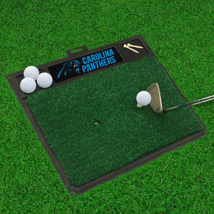 "Carolina Panthers  Golf Hitting Mat - 20"" x 17"""
