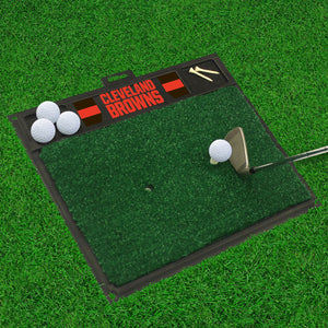 "Cleveland Browns  Golf Hitting Mat - 20"" x 17"""