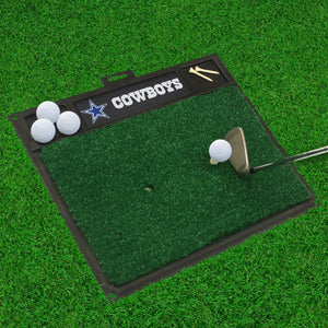 "Dallas Cowboys  Golf Hitting Mat - 20"" x 17"""