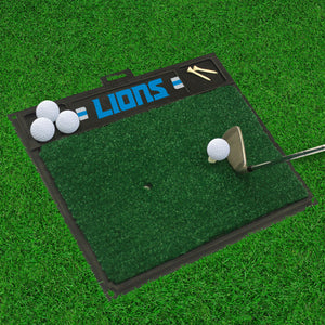 "Detroit Lions  Golf Hitting Mat - 20"" x 17"""